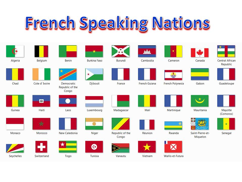 10 countries that speak french
