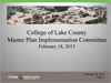 Sustainable Master Plan Update PowerPoint presentation_Feb182015