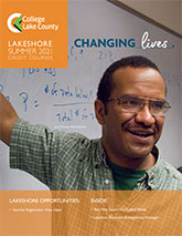 Lakeshore Campus flier cover