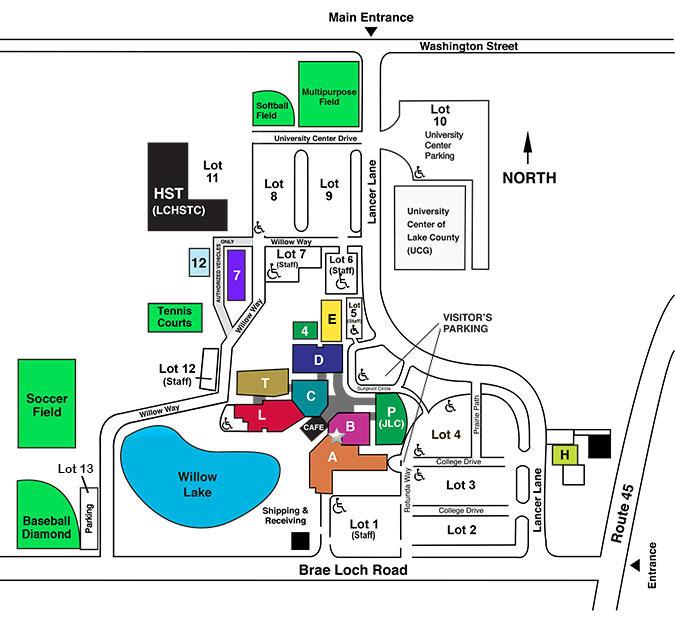 Grayslake Campus Map
