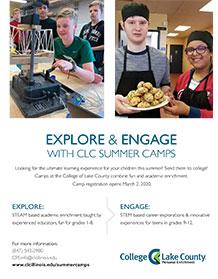 Explore Summer Camp Brochure (PDF)
