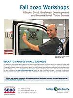 SBDC Workshops brochure cover