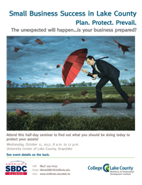 SBDC Marketing Series brochure cover